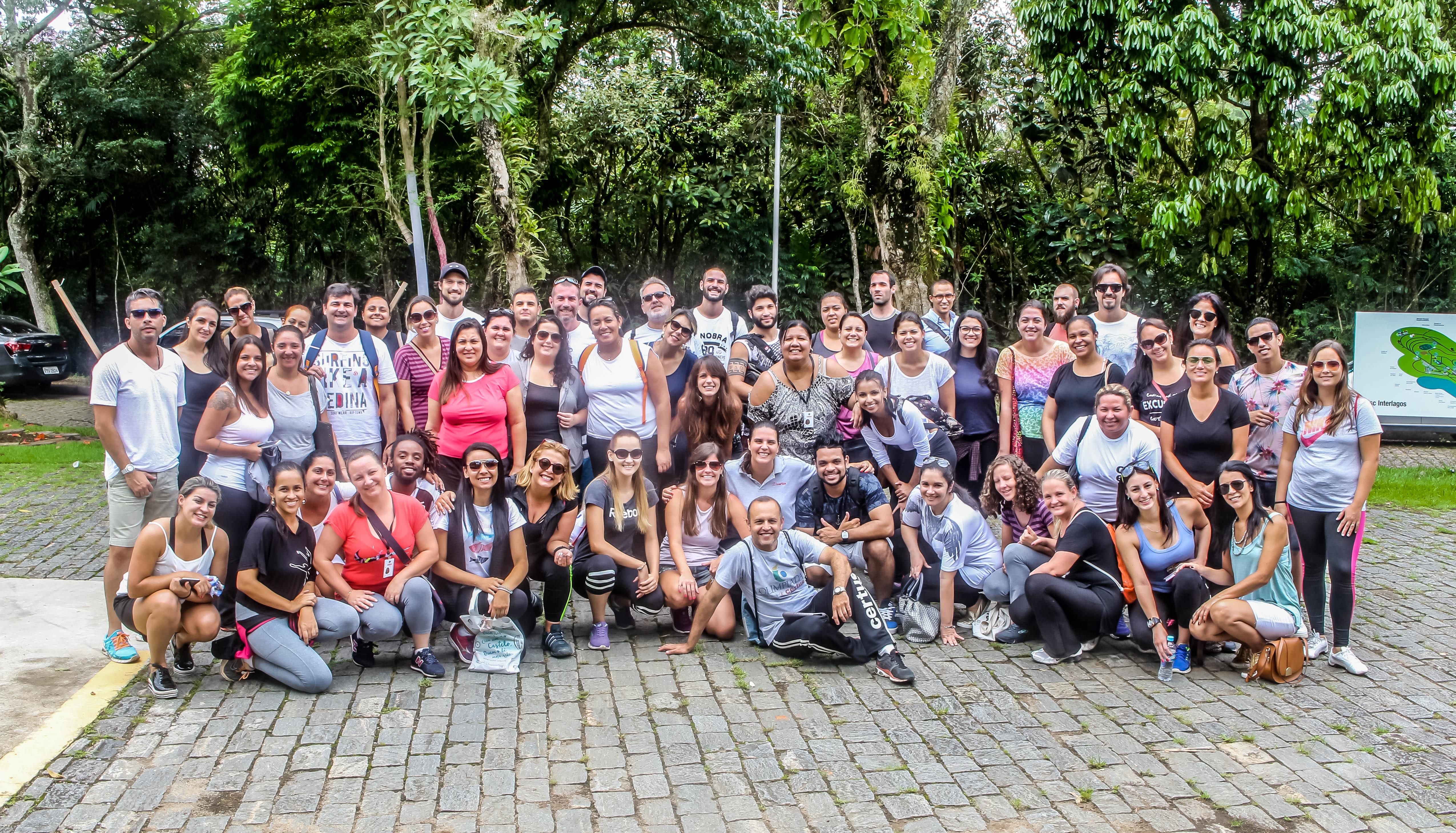 Equipe professores no Sesc Interlagos na Jornada Pedagógica