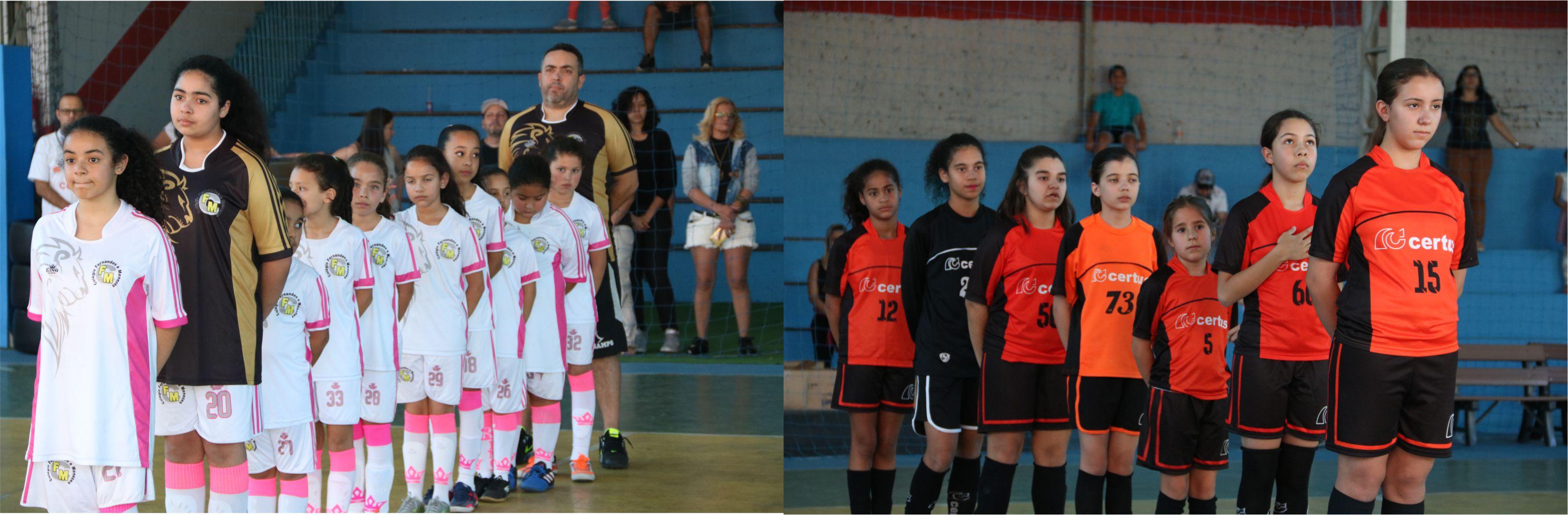 Olimpíada Certus reúne escolas e colégio da região para confraternização dos jogos olímpicos de futsal e baquete masculino e feminino