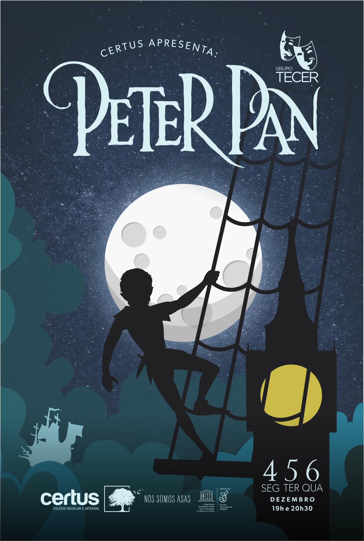 Pequeno Príncipe e Peter Pan são encenados pelo Tecer, grupo de Teatro do Certus tendo a infância como tema permeador das duas peças teatrais