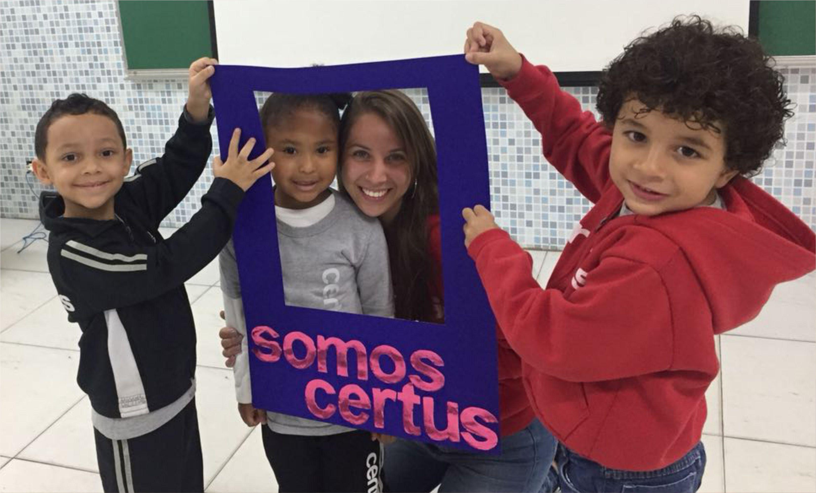 Turma do Integral do Certus iniciam as atividades do ano com integração de dinâmicas de grupo que contribuem no processo de ensino aprendizagem sendo um importante instrumento educacional